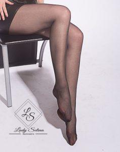 Lady Selina Domina Strumpfhose schwarz