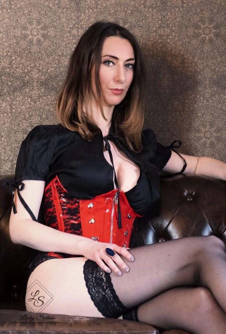 Lady Selina Domina Wien Keuschhaltung tease denial