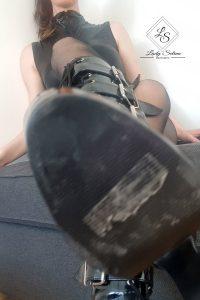 Lady Selina Domina Stiefel sohle